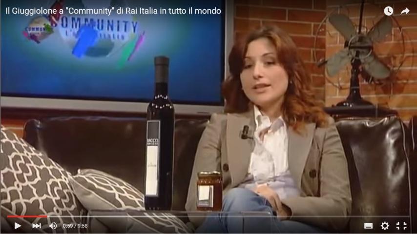 SiGi a Community su Rai Italia
