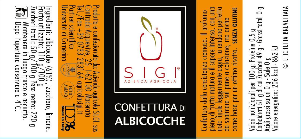 Confett. di ALBICOCCHE 98x45 Made ITALY