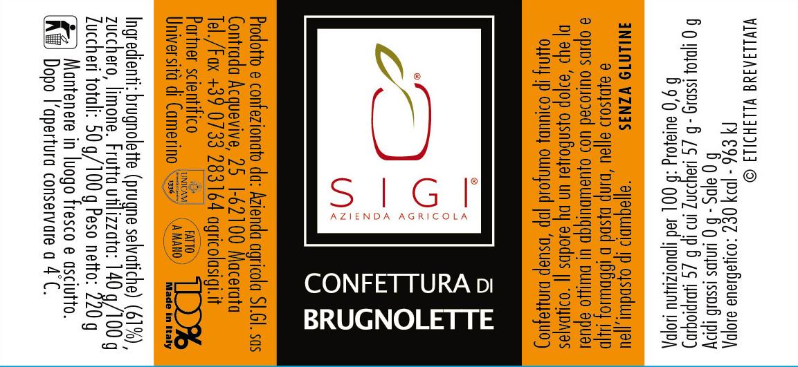 Confett. di BRUGNOLETTE 98x45 MadeITALY
