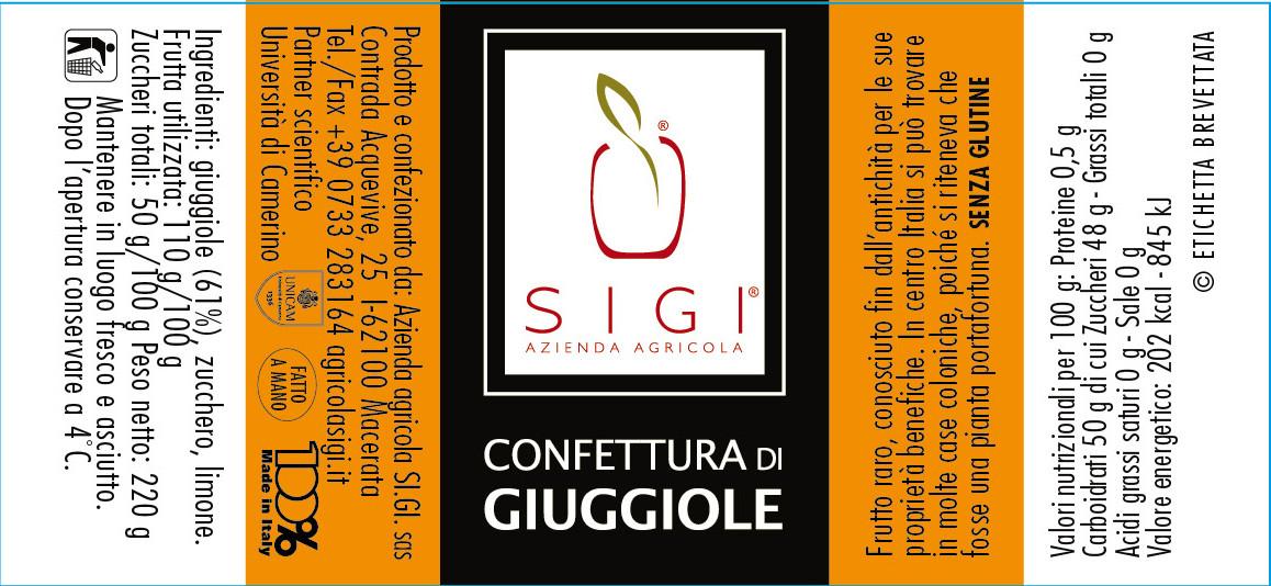 Confett. di GIUGGIOLE 98x45 Made ITALY