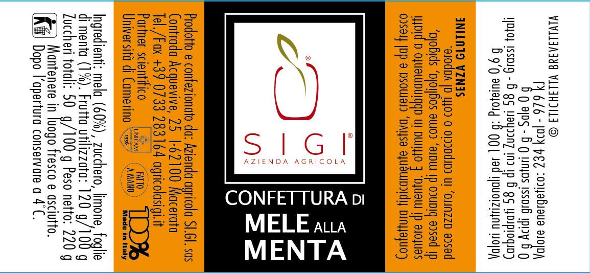 Confett. di MELA ALLA MENTA 98x45 MadeITALY