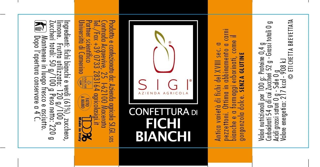 Confett. di FICHI BIANCHI MadeITALY