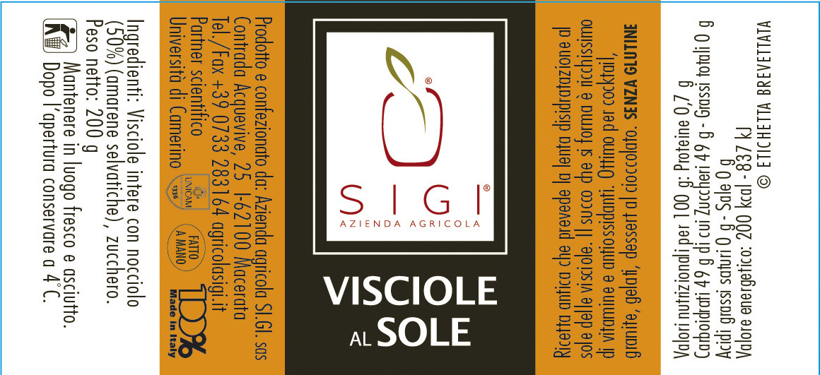 VISCIOLE al SOLE
