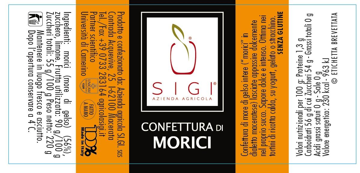Confett. di moriciMadeITALY