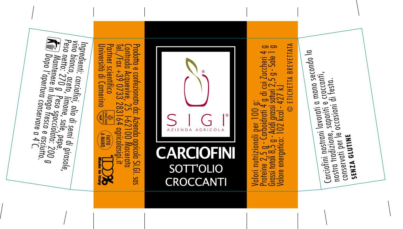 carciofini croccanti
