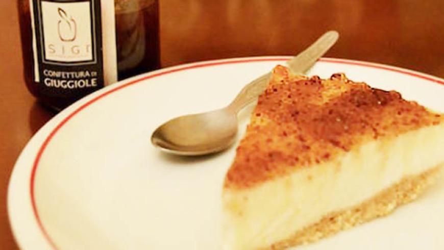 Cheesecake alle giuggiole