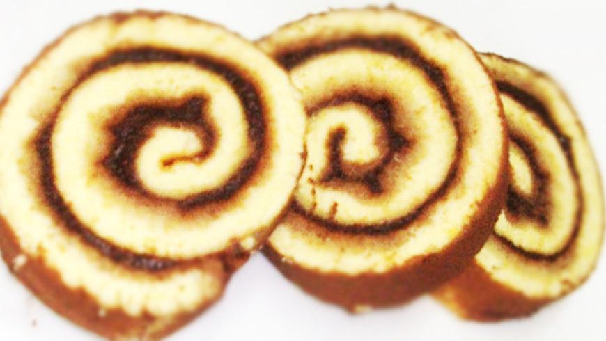 (Italiano) Girelle con confettura di Mele e Cacao