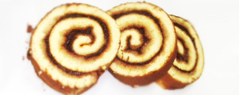Girelle con confettura di Mele e Cacao
