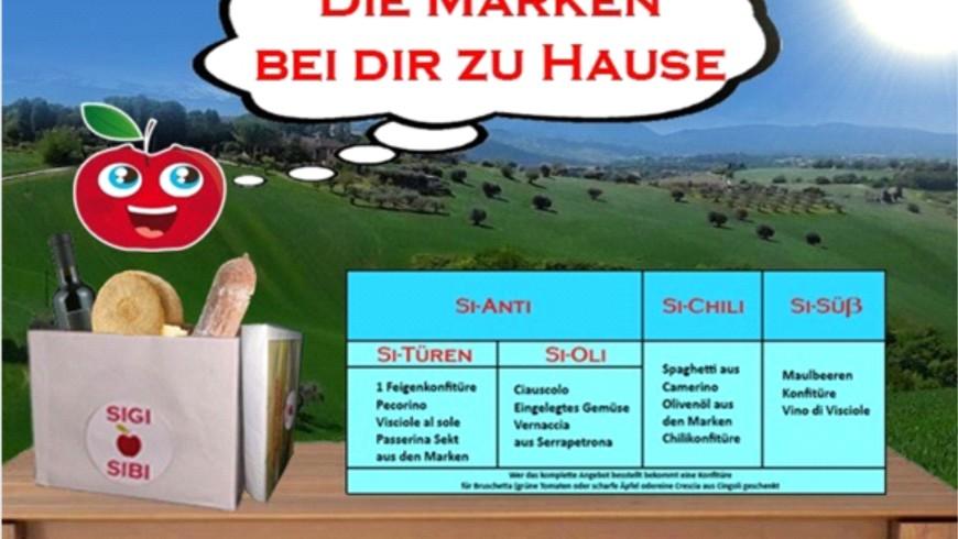(Italiano) SiGi-SiBi Die Marken auf deinem Tisch