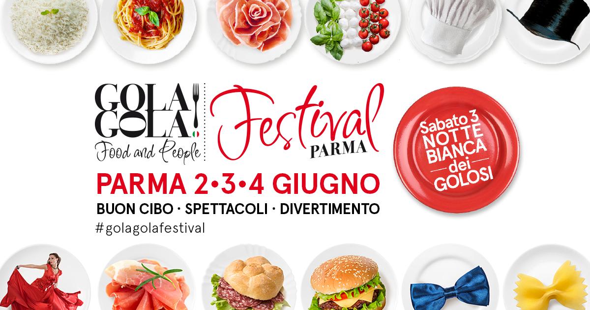 Gola Gola Festival a Parma 2-3-4 Giugno