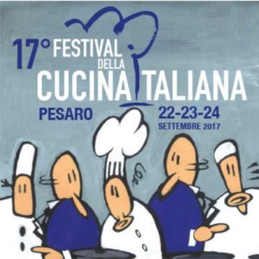 (Italiano) Festival Della Cucina Italiana – Pesaro 22-24 Settembre 2017