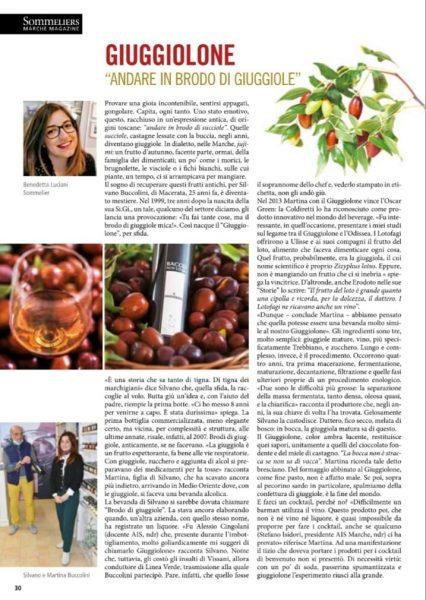 """L'articolo è tratto da: """"Sommelier Marche Magazine - Agosto 2021"""" Si ringrazia Ais Marche per la concessione"""